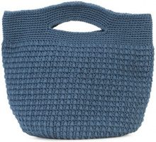 Rachel Comey - Cariso woven tote - women - Cotton - OS - BLUE