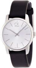 Calvin Klein donna-Orologio da polso al quarzo in pelle K2G231C6