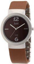 Just Watches 48-S4702-BR - Orologio da polso donna, pelle, colore: marrone