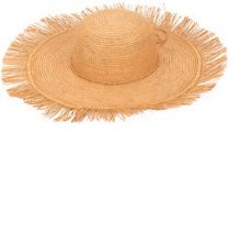 Sensi Studio - frayed Lady Majorca hat - women - Straw - M - BROWN