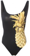 Onia - Kelly pineapple print swimsuit - women - Nylon/Spandex/Elastane - XS, S, M - BLACK