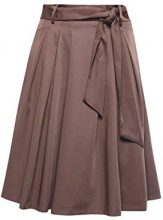 ESPRIT Collection 058eo1d001, Gonna Donna, Marrone (Taupe 240), 48 (Taglia Produttore: 42)