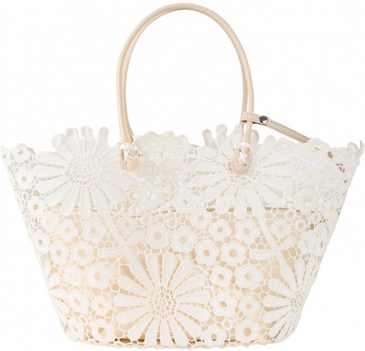 45ef7f1b86 Borsa shopper con fiori (Beige) - bpc bonprix collection | Bantoa