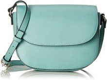 s.Oliver (Bags) City Bag - Borse a tracolla Donna, Verde (Jade), 7x18x20 cm (B x H T)