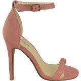 Da donna in acciaio inox a forma di scarpa con tacco a livello della caviglia etto con Peep tappete