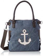 Bags4Less Anker-mini - Borse a spalla Donna, Blau (Washed-blau), 34x20x32 cm (B x H T)