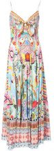 Camilla - Close To My heart print dress - women - Silk - S - Multicolore
