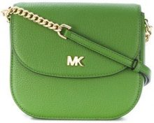 - Michael Michael Kors - Half Dome cross - body bag - women - pelle - Taglia Unica - di colore verde