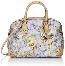 piero guidi 216EQ Magic Circus Cherie Borsa a Mano, Sintetico, Cielo (Col.23), 30 cm