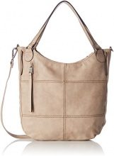 s.Oliver (Bags) 39.707.94.5796, Borsa a Spalla Donna, Beige (Toffee), 6x30.5x34 cm