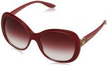 Bvlgari 0BV8171B 53808H, Occhiali da Sole Donna, Rosso (Top Crystal On Raspberry/Violet Gradient), 57