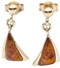 InCollections - Orecchini pendenti da donna con ambra, oro giallo 8k (333), cod. 10163350100
