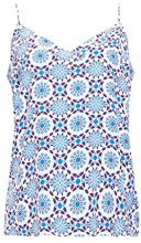 ESPRIT 058ee1f037, Camicia Donna, Multicolore (Off White 110), 44 (Taglia Produttore: 38)