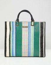 River Island - Maxi borsa con catena - Multicolore