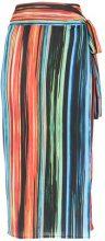Lygia & Nanny - Pareo midi skirt - women - Polyester/Spandex/Elastane - OS - MULTICOLOUR