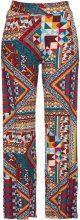 Pantaloni palazzo in maglina (Rosso) - bpc bonprix collection