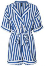 Y.A.S Blue Striped Playsuit Women Blue