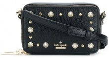Kate Spade - studded mini box shoulder bag - women - Leather - One Size - BLACK