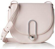 HUGO Uptown Saddle Bag - Borse a spalla Donna, Rosa (Light/Pastel Pink 681), 7x18x21.5 cm (B x H T)