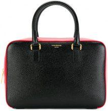 Thom Browne - Portadocumenti con manici - women - Calf Leather - One Size - BLACK