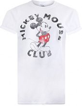 Disney Mickey Year, T-Shirt Donna, White, 42 (Talla Produttore: X-Large)