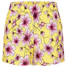 ONLY Printed Shorts Women Yellow