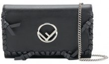 Fendi - Kan I F shoulder bag - women - Calf Leather - OS - BLACK