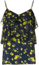 Goen.J - Top con stampa a fiori - women - Polyester - XS, S, M, L, XL - BLUE
