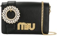 Miu Miu - Borsa a spalla My Miu - women - Leather - One Size - BLACK