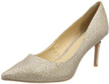 Buffalo H733-c002a-4 P1855d Glitter, Scarpe con Tacco Donna, Oro (Gold 01), 38 EU