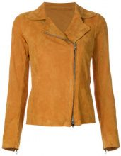 Salvatore Santoro - Giacca con zip - women - Leather - 40, 44 - YELLOW & ORANGE
