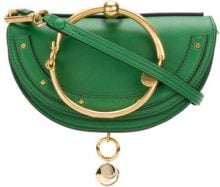 Chloé - Borsa 'Nile Minaudière' - women - Calf Leather/Lamb Skin - OS - GREEN