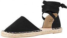 New Look Wide Foot Jas, Espadrillas Donna, Black (Black 1), 36 EU