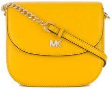 - Michael Michael Kors - Mott dome crossbody - women - Leather - Taglia Unica - Giallo & arancio