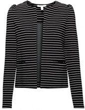 ESPRIT 127ee1g017, Blazer Donna, Multicolore (Black 001), 48 (Taglia Produttore: X-Large)