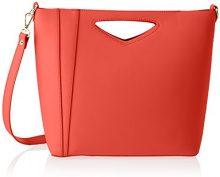 Chicca Borse 8611, Borsa a Spalla Donna, Rosso (Red), 36x28x12 cm (W x H x L)