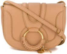 See By Chloé - small Hana crossbody bag - women - Goat Skin/Cotton - OS - NUDE & NEUTRALS