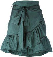 Isabel Marant - Aurora mini skirt - women - Silk/Polyamide - 34, 40 - Verde