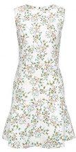 ESPRIT Collection 058eo1e007, Vestito Donna, Bianco (Off White 110), 46 (Taglia Produttore: 40)