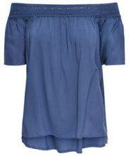 ONLY Off Shoulder Short Sleeved Top Women Blue