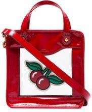 Anya Hindmarch - Borsa tote - women - Leather/Plastic - OS - RED