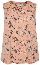 JUNAROSE Printed Sleeveless Top Women Beige