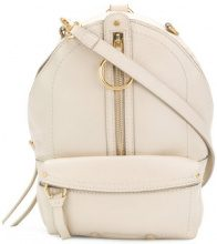 See By Chloé - Zaino 'Mino' - women - Leather - One Size - Color carne & neutri