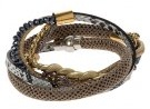 AURIOL - Bracciale - silver-coloured/gold-coloured
