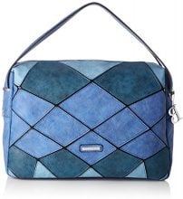 Bulaggi Gear Handbag - Borse a secchiello Donna, Blau (Kobalt Blau), 14x27x36 cm (B x H T)