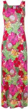 Ultràchic - hibiscus sleeveless maxi dress - women - Viscose - 42, 44 - MULTICOLOUR