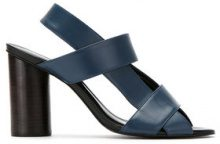 - Mara Mac - leather sandals - women - pelle - 36, 37, 34, 39, 35, 38 - di colore blu