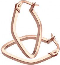 Citerna Orecchini da Donna in Oro Rosa 9K