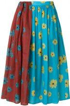 Neul - floral print skirt - women - Cotton - S, M, XS - MULTICOLOUR