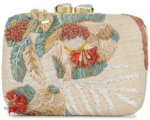 Aranaz - Clutch 'Martina' - women - Straw - OS - Color carne & neutri